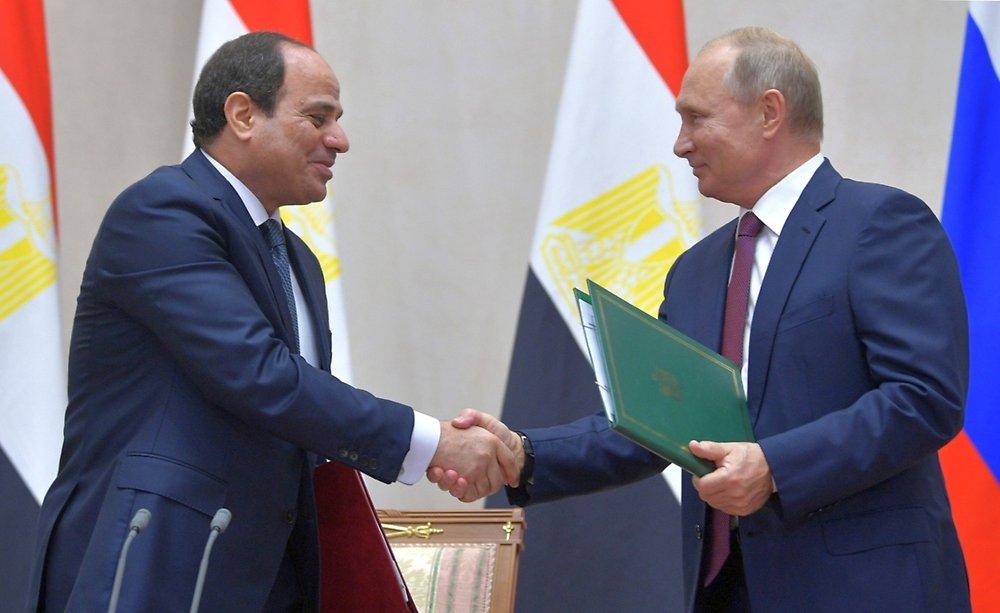 Россия и Египет дружба навек!